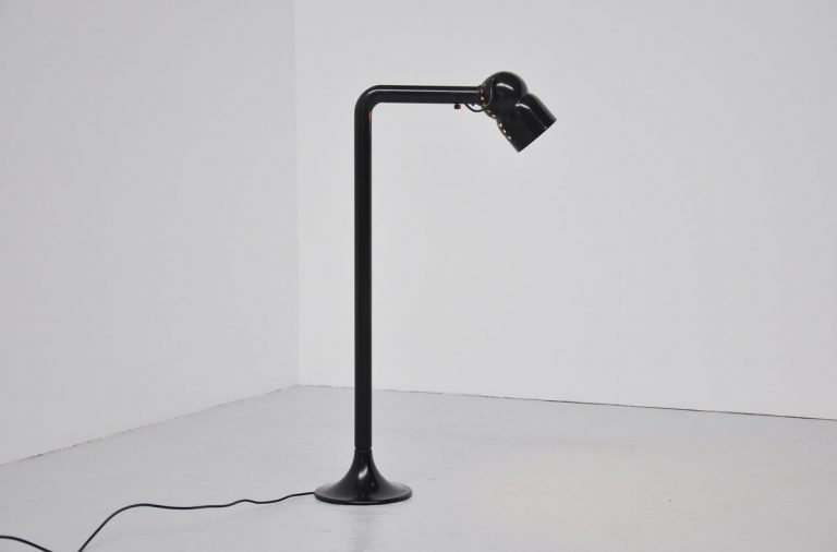 Elio Martinelli floor lamp black 1965