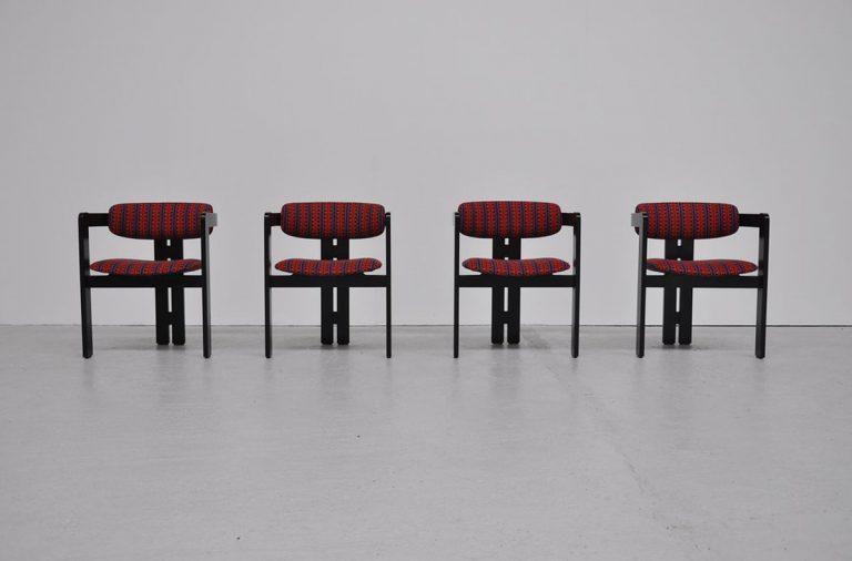 Augusto Savini pamplona chairs Pozzi 1965