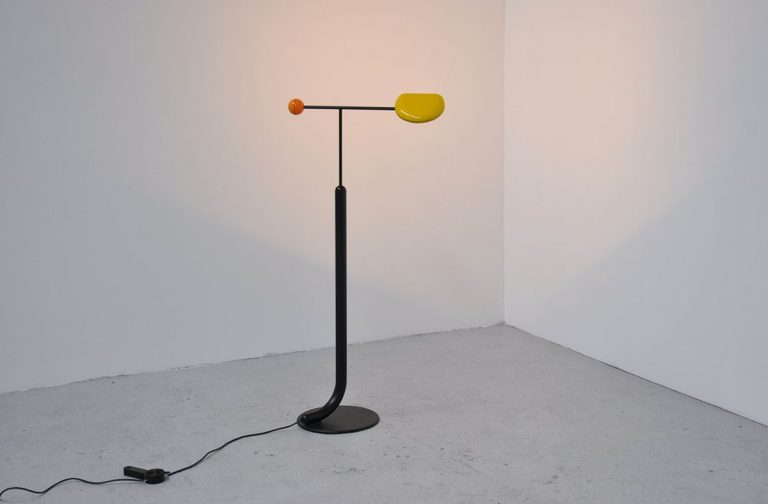 Toshiyuki Kita Tomo floor lamp 1985