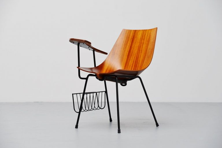 Vittorio Nobili attributed side chair Italy 1950