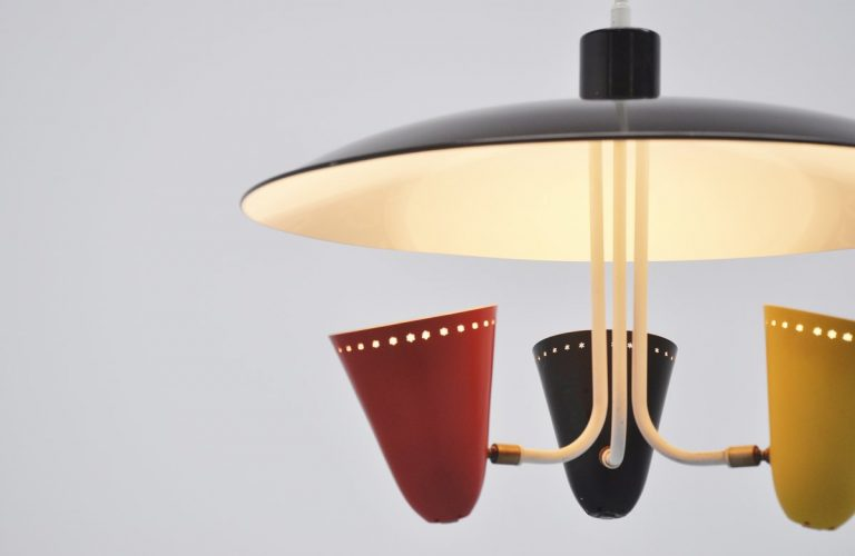 Hala uplighter designed by H. Busquet 1955