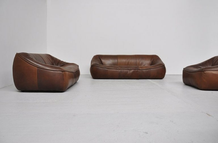 Ringo sofa set by Gerard van den Berg for montis 1970