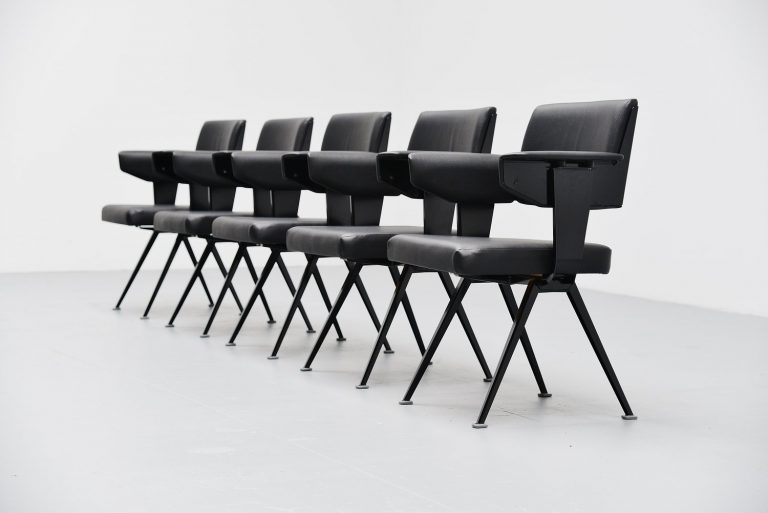 Friso Kramer Resort chairs Ahrend de Cirkel 1960