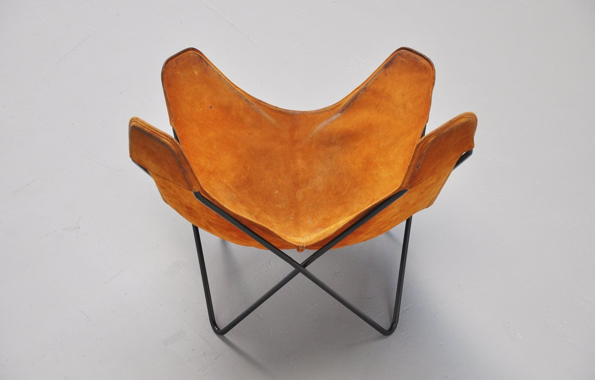 Butterfly Chair By Jorge Hardoy Ferrari For Knoll 1970. Up