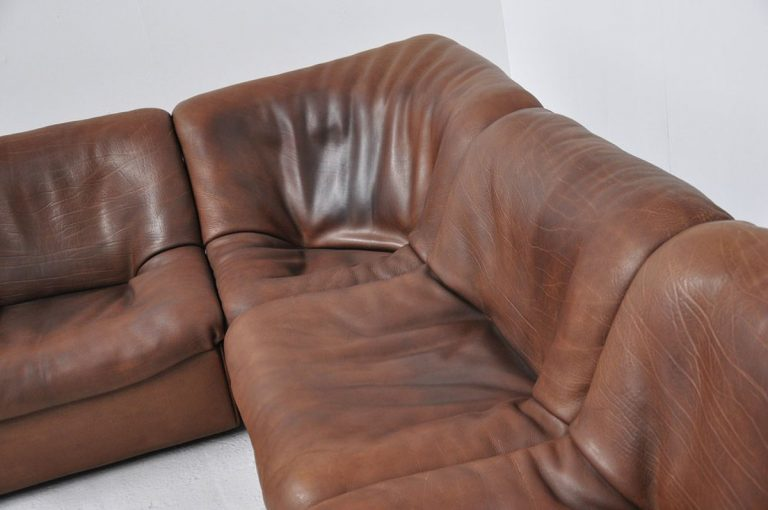 De Sede DS46 element sofa in Neck leather 1970
