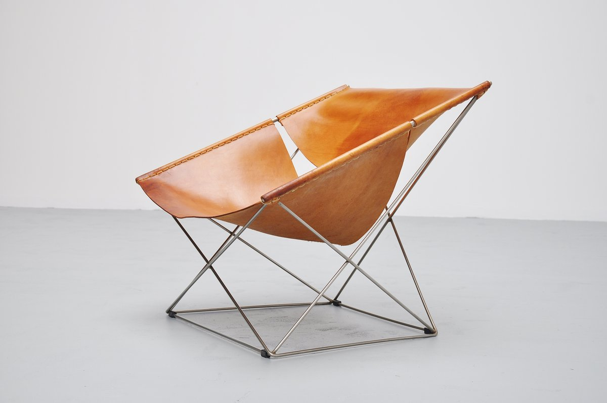 Superbe Pierre Paulin F675 Butterfly Chair Artifort 1963. Up