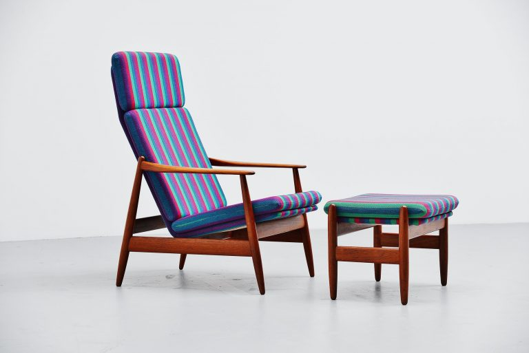 Poul Volther lounge chair by Frem Røjle Denmark 1960
