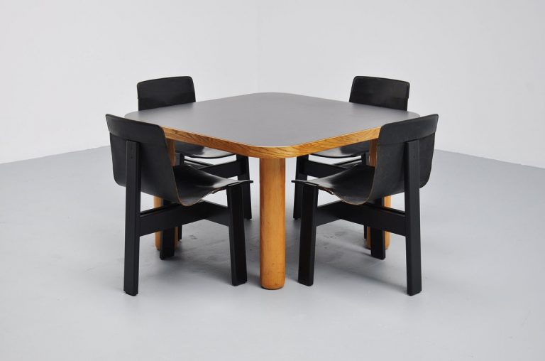 Angelo Mangiaorotti Tre 3 chairs by skipper 1978
