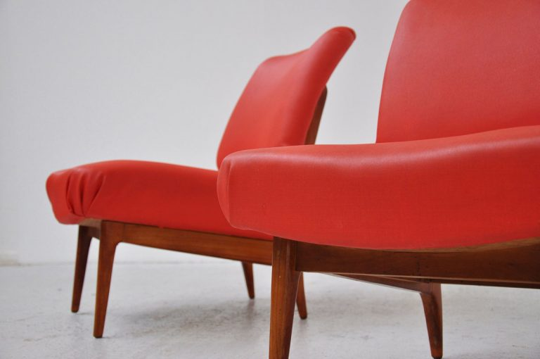 Theo Ruth lounge chairs for Artifort 1953