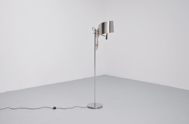 Maison Charles floor lamp with perspex France 1970