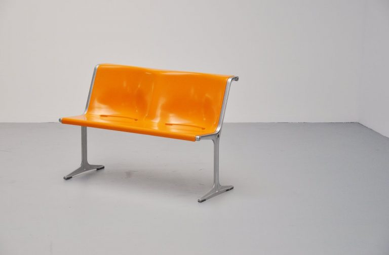 Friso Kramer Wilkhahn bench model 1200 Germany 1972