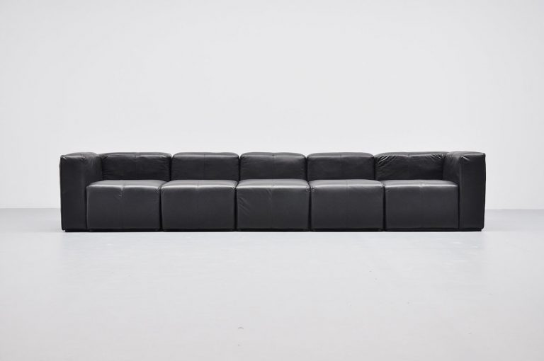 Claire Bataille and Paul Ibens modular carré sofa 1971