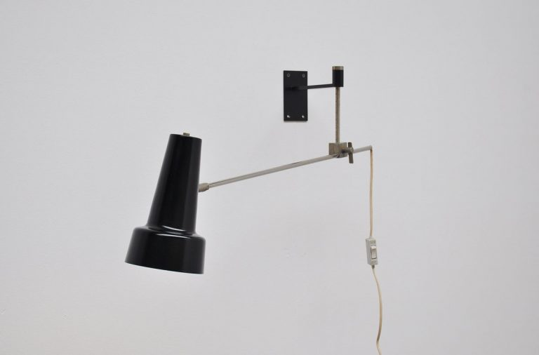 Willem Hagoort adjustable wall lamp 1950