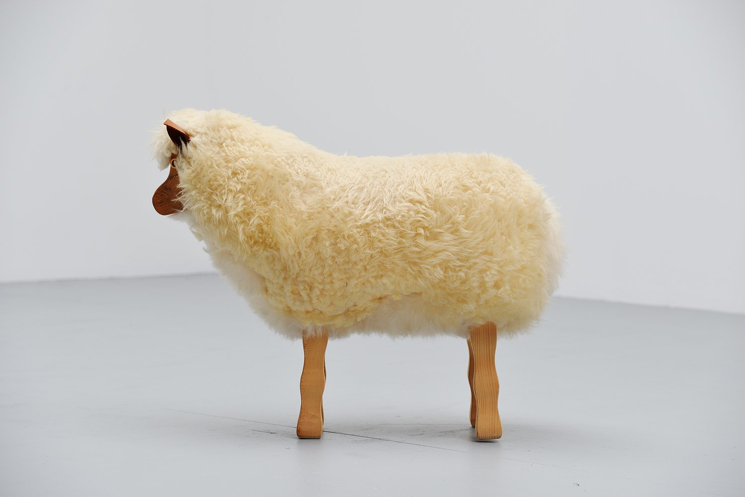 Decorative Sheep In The Manner Of Francois Xavier Lalanne