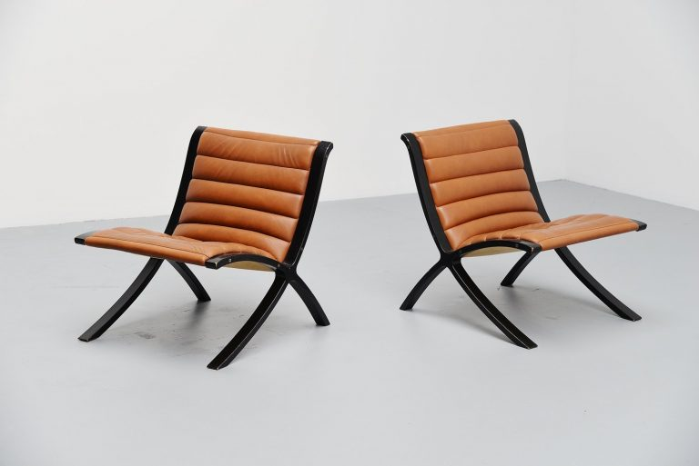 Peter Hvidt Orla Molgaard Nielsen X-Chair Fritz Hansen 1979