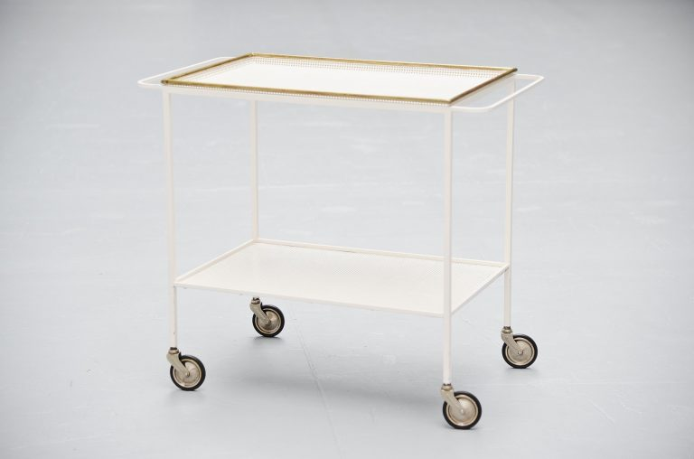Mathieu Mategot serving cart France 1950