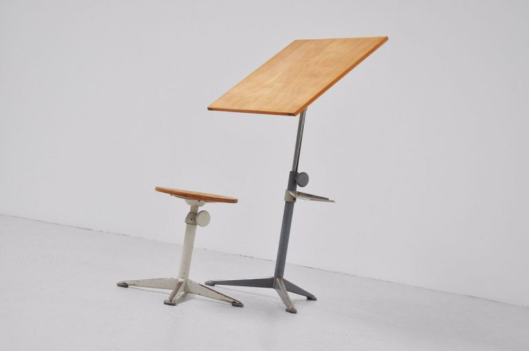 Friso Kramer Reiger drafting table 1963