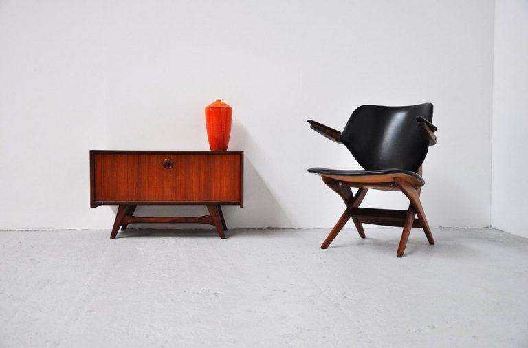 Webe tv cabinet Louis v. Teeffelen 1960