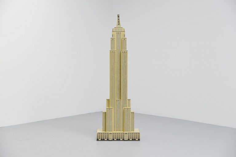 Empire State Building sculpture, hand made 1983
