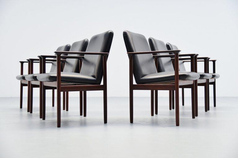 Cor Bontenbal armchairs by Fristho Franeker Holland 1962