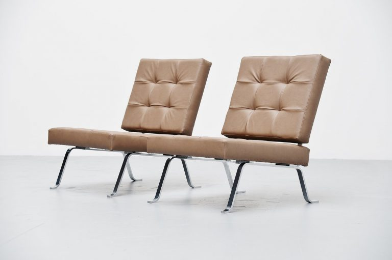 Hein Salomonson AP Originals lounge chairs Holland 1960