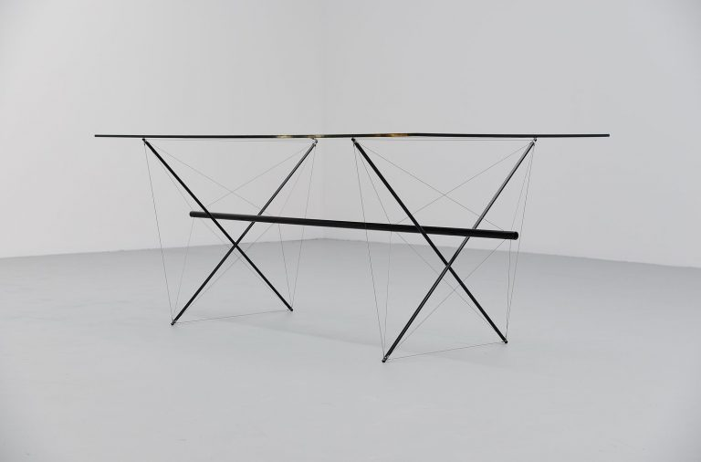 Hein Dicke architectural dining table Holland 1965