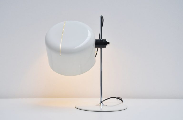 Joe Colombo Coupe table lamp Oluce 1967