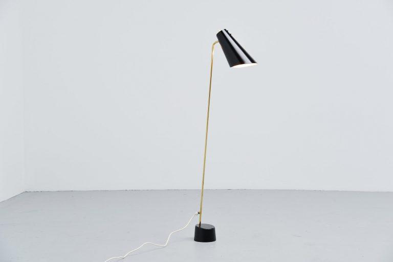 Asea Belysning floor lamp Sweden 1960