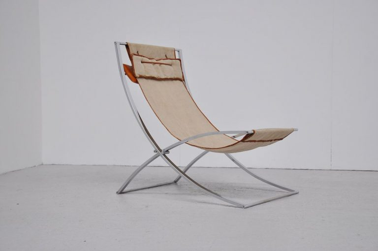 Marcello Cuneo Luisa lounge chair 1970