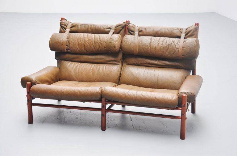 Arne Norell Inca sofa Sweden 1965