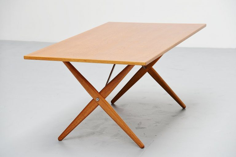 Hans Wegner AT-303 Sawhorse table Andreas Tuck Denmark 1955