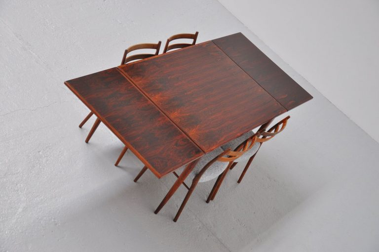 Niels Moller #12 dining table Rosewood 1964