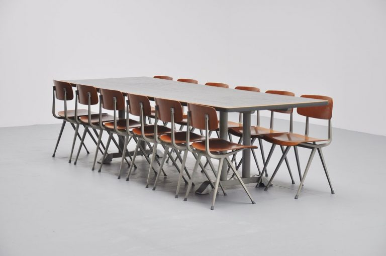 Chris Hoffmann conference table for Gispen 1949