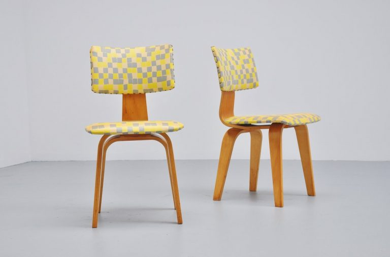 Pastoe chairs SB03 by Cees Braakman 1954