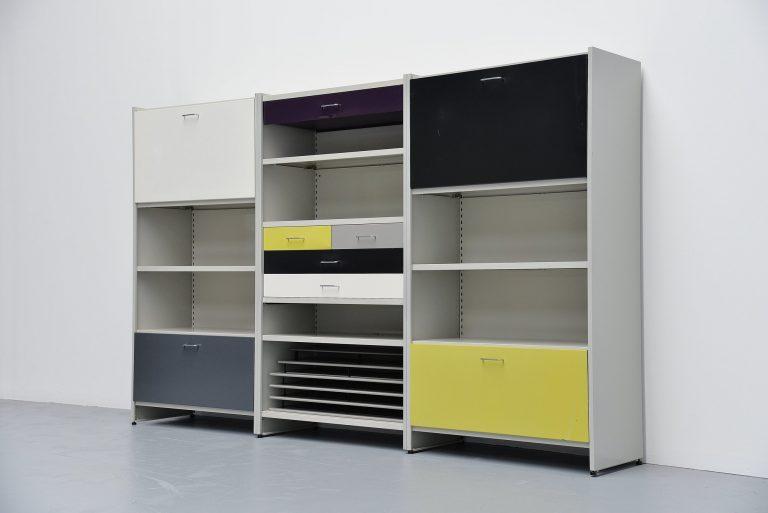 Andre Cordemeijer Gispen 5600 modular cabinet Holland 1962