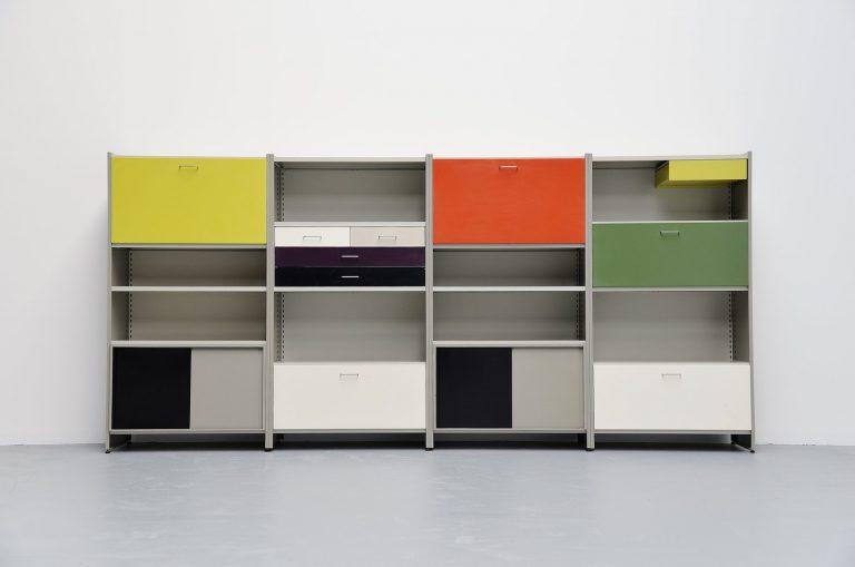 Andre Cordemeijer Gispen 5600 large storage unit Holland 1962