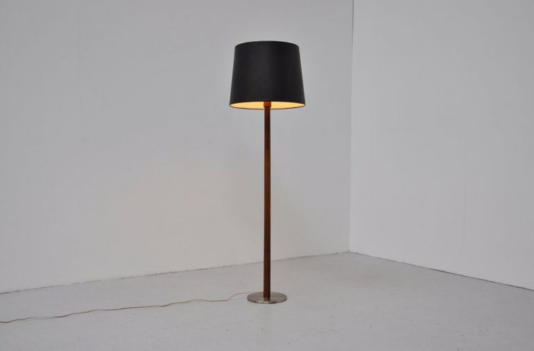 Luxus floor lamp Osten Kristiansson 1960