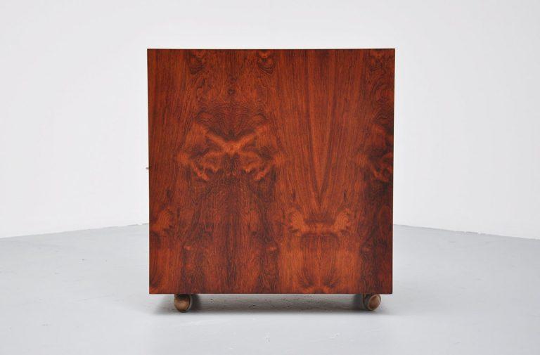Henry Rosengren Hansen liquor cabinet Denmark 1960