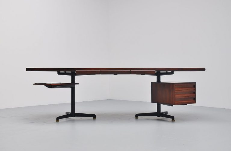 Osvaldo Borsani conference desk table Tecno Italy 1954