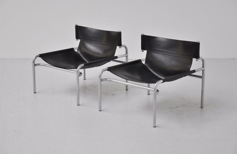 Walter Antonis SZ12 lounge chairs pair 1971