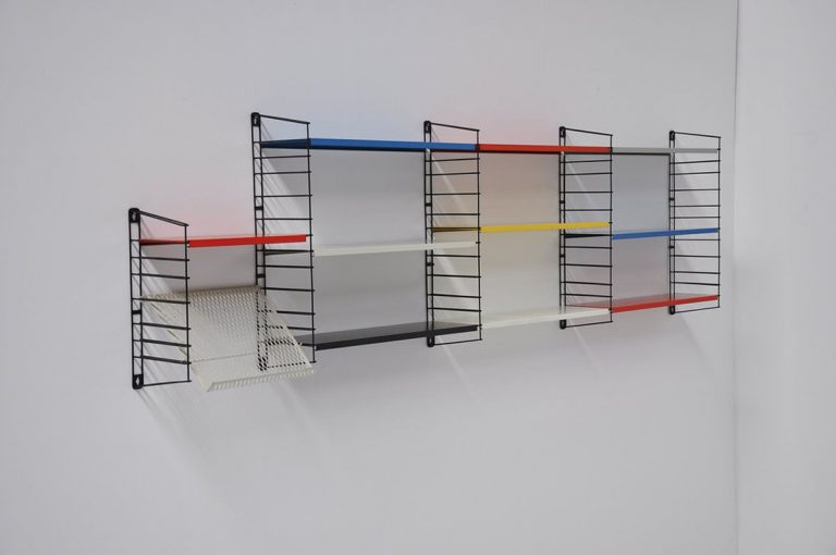Tomado bookcase unit by D Dekker 1960