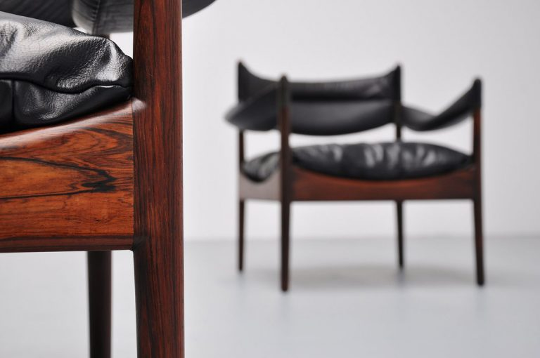 Kristian Vedel modus chairs pair 1963