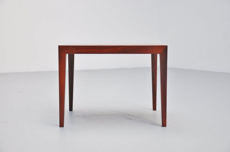 Severin Hansen rosewood coffee table Haslev 1955