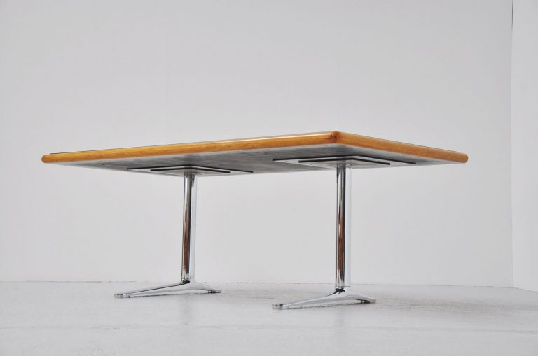 Warren Platner conference desk by Knoll international 1973