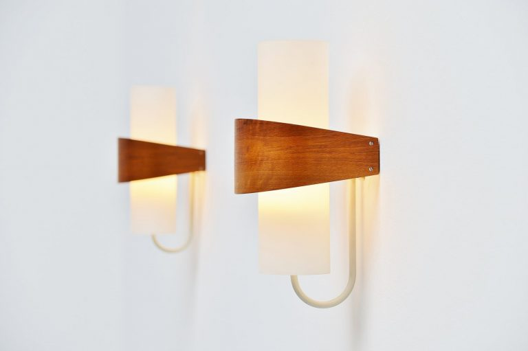 Louis Christiaan Kalff NX40 sconces Philips 1959