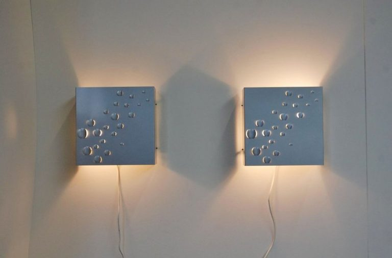 Raak Sterrenregen wall lamp 1965