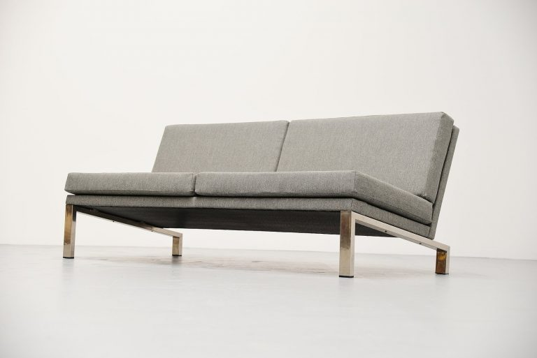 Dick Lookman lounge sofa for Bas van Pelt Holland 1965