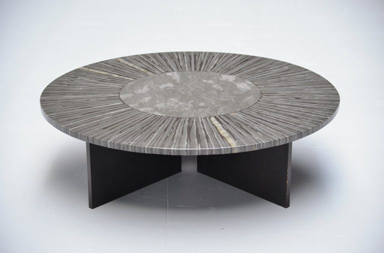Unknown Belgian coffee table possibly by Jan Vlug 1970