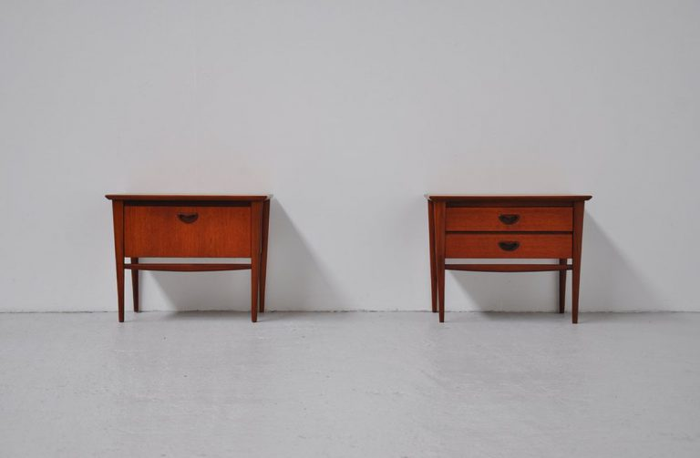 Webe night stands Louis van Teeffelen 1960