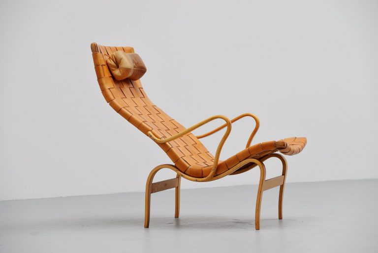 Bruno Mathsson Pernilla lounge chair Sweden 1960